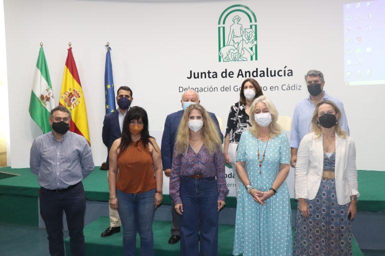 Reunión con la Delegada de la Junta y la Delegada de Fomento en Cádiz