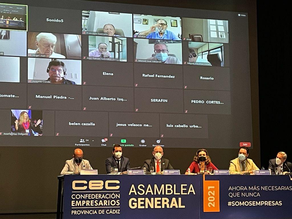 Asamblea general electoral de la CEC